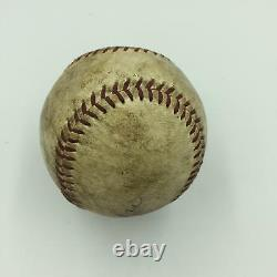 1950's Hank Aaron Signed Game Used National League Baseball MEARS COA & STEINER