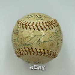 1976 Yankees Team Signed Game Used Baseball Thurman Munson & Nolan Ryan PSA DNA