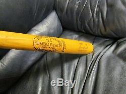 1977-78 Lyman Bostack Game Used Louisville Slugger Baseball bat