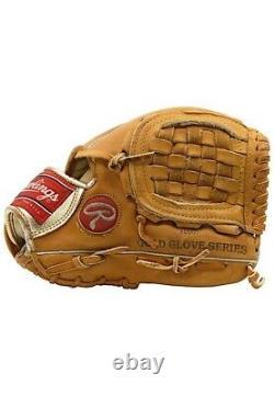1993 Ryne Sandberg Signed Game Used Rawlings Baseball Glove Chicago Cubs JSA COA