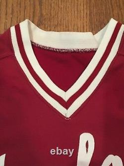 2001-02 Stanford Cardinal Game Used Baseball Jersey Worn #5 Sam Fuld Team Israel
