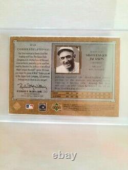 2001 SP Legendary Cuts Debut Bat Card #D-JJ Shoeless Joe Jackson Game Used Bat