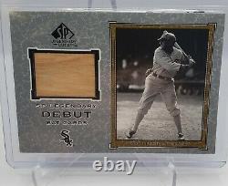 2001 SP Legendary Debut Shoeless Joe Jackson Game Used Bat SP White Sox