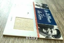 2001 Upper Deck Pinstripe Exclusive Game Used Jersey Joe Dimaggio/Lou Gehrig