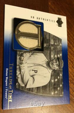 2003 Upper Deck Authentics Honus Wagner game used pants Relic Pirates 149/350