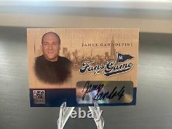 2004 Donruss Elite Fans Of The Game James Gandolfini Autograph card Tony Soprano