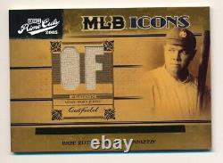 2004 Prime Cuts BABE RUTH Game Used Jersey MLB ICONS #35/50