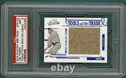 2005 Playoff ABS MEM Jim Thorpe Game Used Jersey #TT132 PSA 9! Giants POP 8