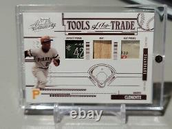 2005 Roberto Clemente Absolute Double Laundry Tag Prime Dual Game Used Patch /4