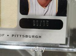2009 Roberto Clemente Ultimate Collection Jumbo Game Used Prime Patch Sp/35 Rare