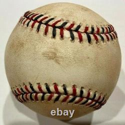 2010 All Star Game Used Baseball McCann MVP Vlad Guerrero HOF Strikeout MLB HOLO