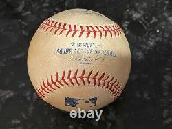 2013 Derek Jeter Game Used Autograph Ball Must Read 100% Genuine Yankees Star