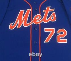 2015 POSTSEASON TORRES size 42 #72 New York Mets game used jersey HOME BLUE MLB