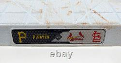 2015 St. Louis Cardinals at Pittsburgh Pirates Game Used 3rd Base 9/28/15