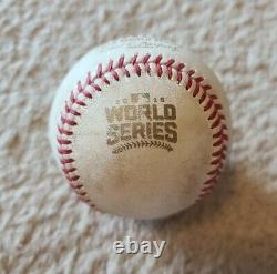 2016 Aroldis Chapman Game Used Pitched 100 Mph World Series Ball! Chicago Cubs