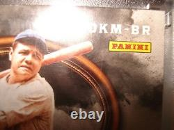 2017 Panini BABE RUTH Card with Game Used Jersey with Stripe & Bat 2/3 DKM-BR