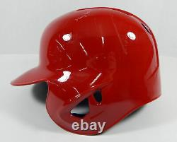 2019 Philadelphia Phillies #76 Game Issued Pos Used Red Batting Helmet DP06753