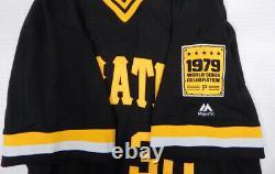 2019 Pittsburgh Pirates Kyle Crick #30 Game Used Black Jersey 1979 TBTC WSC 778