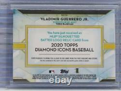 2020 Diamond Icons Vladimir Guerrero Jr. GAME USED MLB LOGO Patch # 1/1 S41