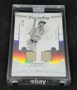 2020 Flawless Legendary Materials Babe Ruth DUAL GAME-USED JERSEY SSP /15
