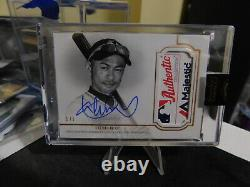 2020 Topps Dynasty Ichiro 1/1 Game Used Majestic Tag Auto Rare Mint