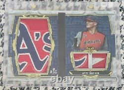 2020 Topps Triple Threads Matt Chapman All-Star Game Game Used Patch Book 1/1