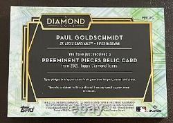 2021 Topps Diamond Icons Paul Goldschmidt Game Used Swoosh Patch! /10! Cardinals