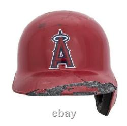 Albert Pujols Game Used Angels Batting Helmet Matched To 33 Game, Records (Rare)