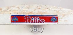 Atlanta Braves at Philadelphia Phillies Game Used 3rd Base 4/28/18 Markakis HR