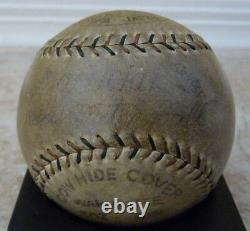 Babe Ruth 1934 Tour of Japan Signed Baseball PSA/DNA Gehrig Foxx Game Used