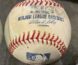 Bill Clinton Signed Autographed Official MLB Game Used Practice Baseball COA