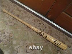 Brady Anderson Autographed Game Used Louisville Slugger Baseball Bat