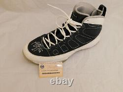 CC SABATHIA Signed / Autographed GAME USED Yankee Cleat Steiner COA