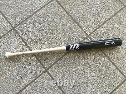 Carlos Correa Houston Astros 2015 Game Used Rookie Season MLB Bat with LOA