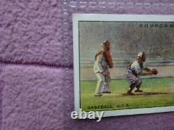 Complete Set Churchman 1929 Sports & Games Incl #25 Baseball Babe Ruth