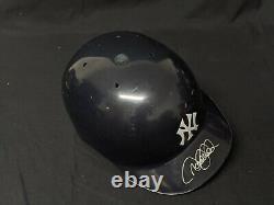 Derek Jeter GAME USED Signed NY Yankees Batting Helmet PSA MLB Steiner COA