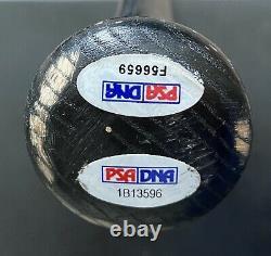 Derek Jeter ROY 96 Game Used Autographed Rookie Bat, 2 PSA LOA's