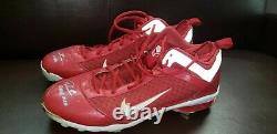 Dontrelle Willis D Train Cincinnati Reds Game Used Autograph Cleats Mlb All Star