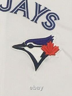 GUERRA size 48 #48 2019 Toronto Blue Jays game used jersey home white MLB HOLO