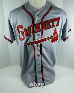 Gwinnett Braves #9 Game Used Grey Jersey