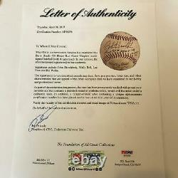 Historic Barry Bonds Home Run 756 Signed Game Used Baseball PSA DNA & MLB Auth