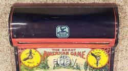 Hustler Baseball The Great American Baseball Game Tin Litho with Original Box