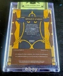 JACKIE ROBINSON/LOU GEHRIG 2008 Playoff Prime Cuts (07/25)Game Used Jersey Card