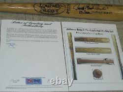 Johnny Bench Game Used Baseball Bat PSA DNA Certified 1981-1982
