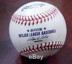 Ken Griffey Jr. #443 Home Run Game Used Signed Baseball 2001 Cincinnati Reds