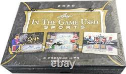 Leaf 2020 ITG In the Game Used Sports Factory Sealed Hobby Box