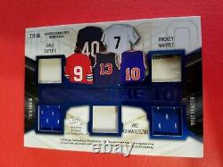 Mickey Mantle Wilt Chamberlain Jim Brown Ali Jack Nicklaus Rose Jersey Card Leaf