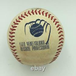 Miguel Cabrera Triple Crown 2012 Signed Inscribed Game Used Baseball PSA DNA