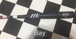 Mike Napoli Cleveland Indians Game Used Cracked Baseball Bat MLB World Series