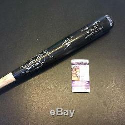 Mookie Betts Signed Game Used Louisville Slugger Baseball Bat JSA Boston Red Sox